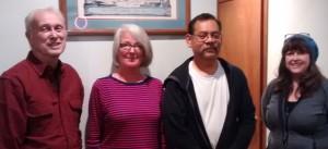 Div 1:  Rich (1st), Kathy (2nd).  Div 2 James (2nd), Leesa (1st)