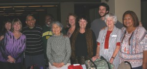 Cleanup crew: Leesa, Laurie, Siri, Jesse, Tomiko, Paula, Anne, Nigel, Elizabeth, Jeannie