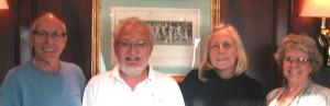 Division 1 winners: Larry Rand, Keith Hagel, Jill Turney, Barbara Van Alen