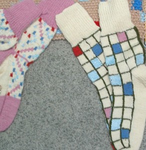 Socks for the silent auction