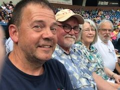 Watching the Asheville Tourists
