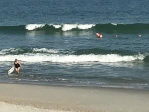 Grits in the ocean