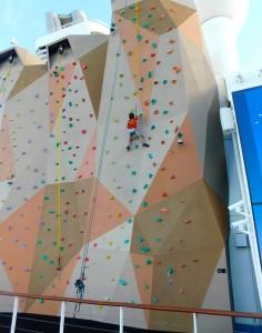 RCCL Climbing Wall