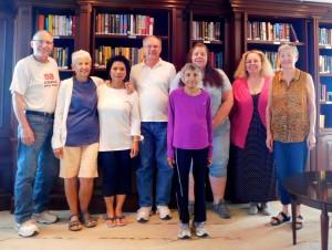 Larry Rand, Phyllis Gelb, Sarah King, Dave Engelhardt, Zarrine Banerji, Linda Oliva, Linda Wancel and Fran Reich.