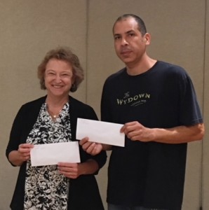 Collins Division winners Paula Catanese (2nd) and Winter (1st)