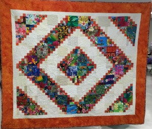 Quilt Tropical punch