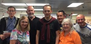Division B: Paul (D), Lynn, Dave (D), Stefan (1st), Ken (2nd), Naurlene, Brian