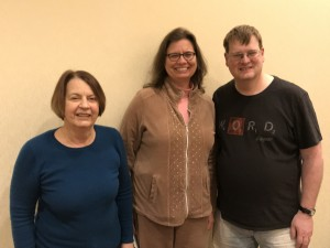 Division winners: Betsey Wood, Susan Bertoni, Barry Keith
